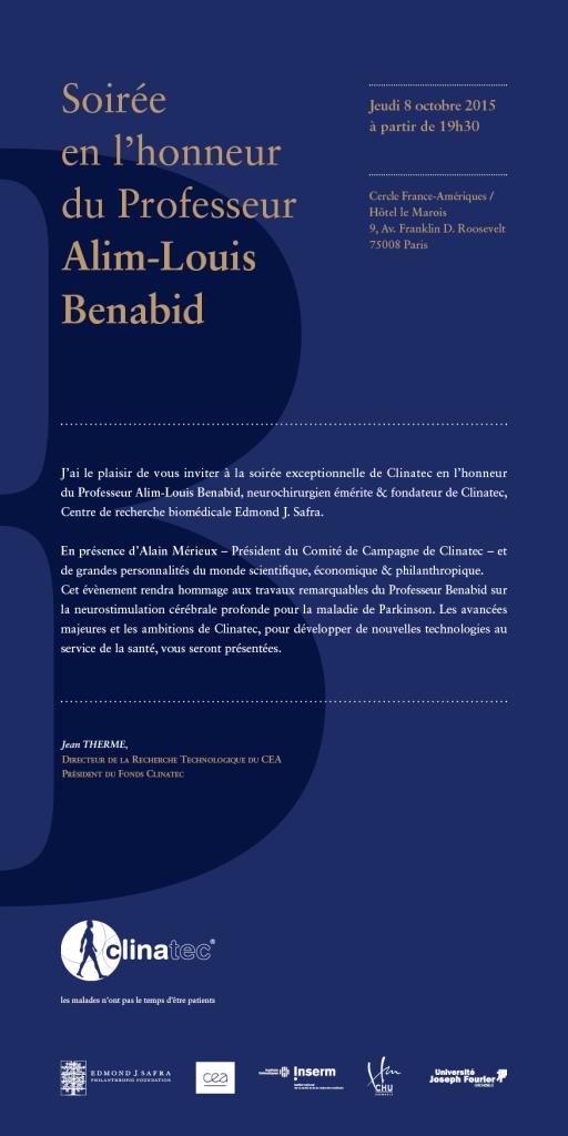 Clinatec - Soirée 8-10 - invitation